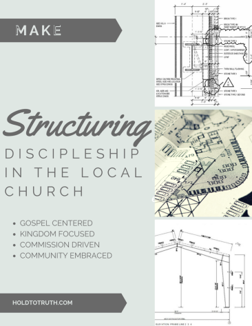 STRUCTURING DISCIPLESHIP IN THE LOCAL CHURCH